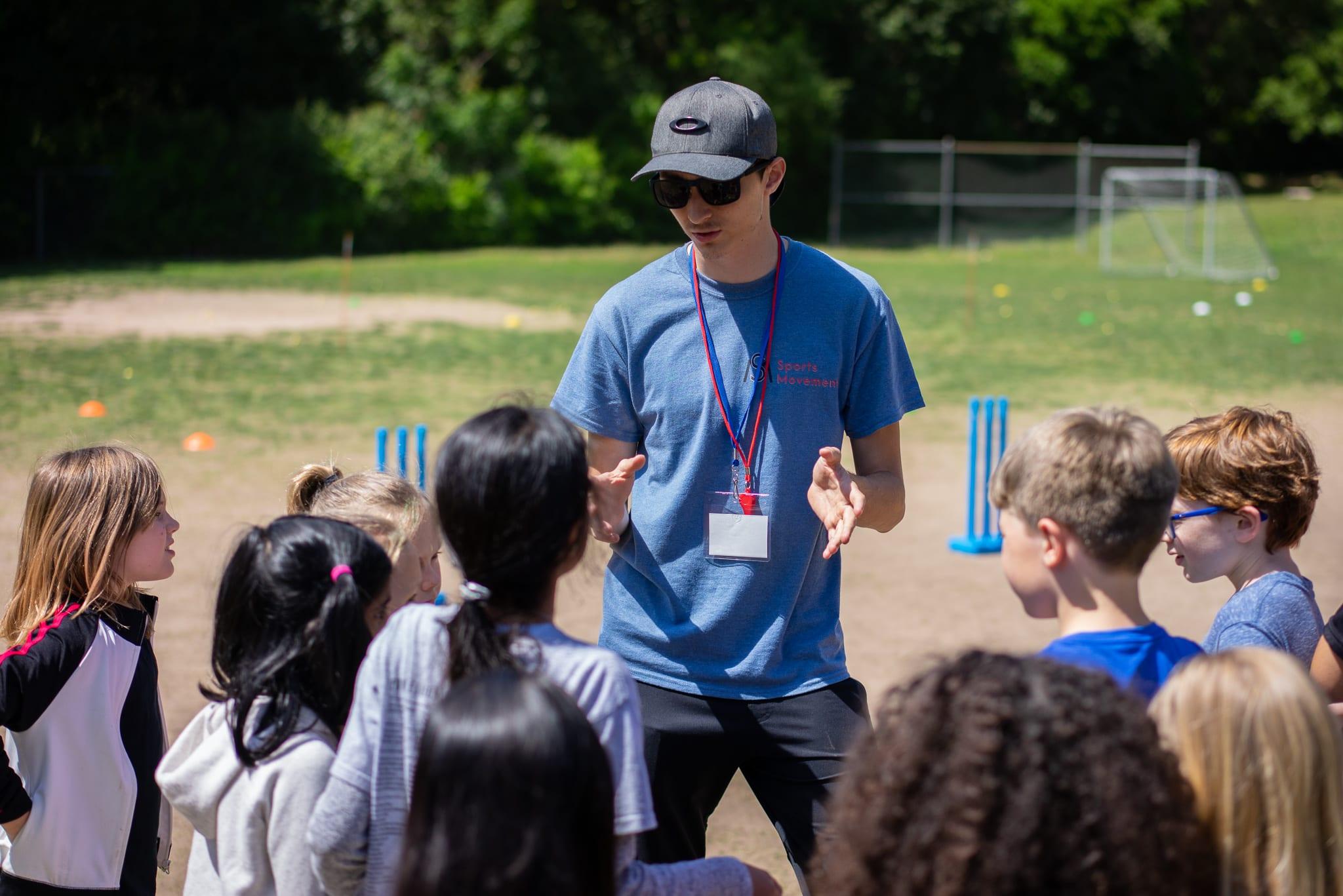 coach explaining rules