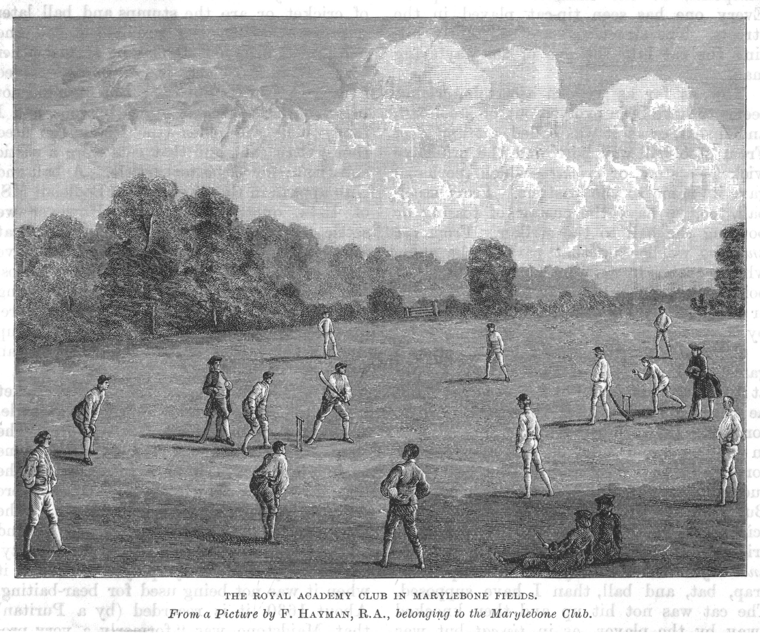 Cricket in the 18th century