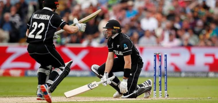 Guptill out hit wicket