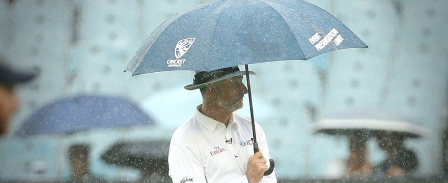 Rain at the World Cup