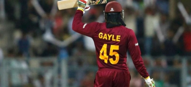 Chris Gayle World Cup farewell