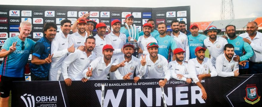 Afghanistan victorious against Bangladesh