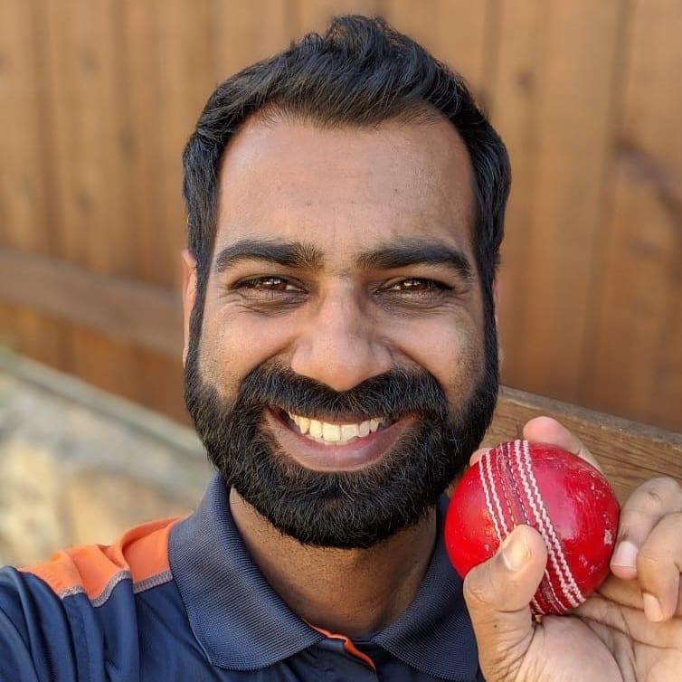Shriram Venkatesan - Cricket Blogger